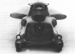 танк МАС-1 вид спереди