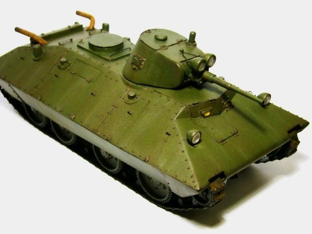 Конструктор танка бт