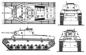 Опытный экземпляр лёгкого танка Т-50 производства Кировского завода. 1941 г. 13