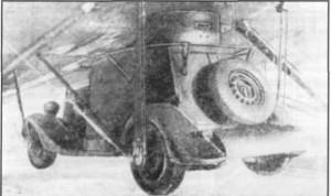 Бронеавтомобиль ба-64 на внешней подвеске