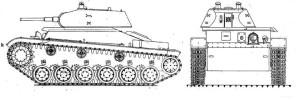 Т-126-1 основные проекции 2