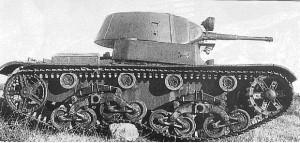 Т-26-5 на испытаниях