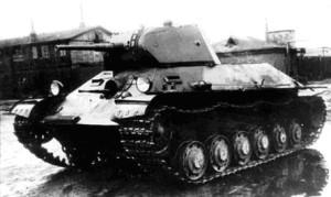 лёнкий танк сопровождения Т-126СП