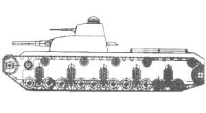 тяжёлый танк прорыва Т-30