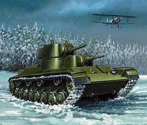 Т-100 в Карелии