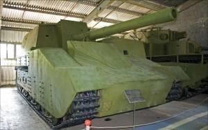 Тфжёлый танк артиллерийской поддержки Т-100Y