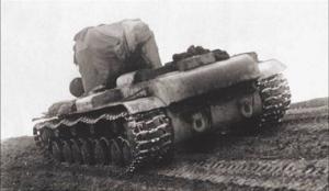 Т-220 на испытаниях