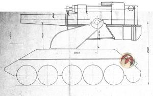 Мортира на шасси Т-34