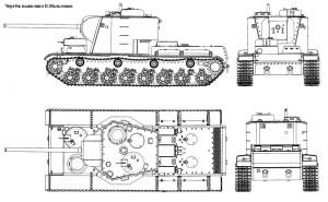 проекции КВ-5