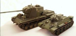 КВ-5 и Т-34-76