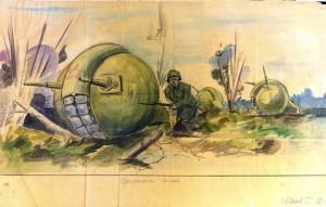 танк колобок в бою