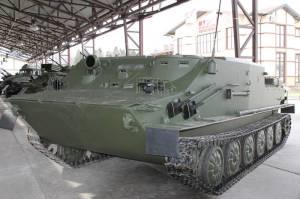БТ-3Ф на заводской площадке