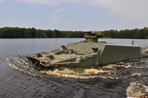 БТ-3Ф испытания на плаву