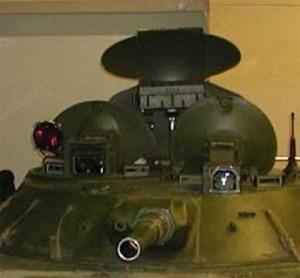 башня БРМ-1К с навесной аппаратурой