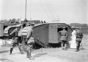 первый радиотанк