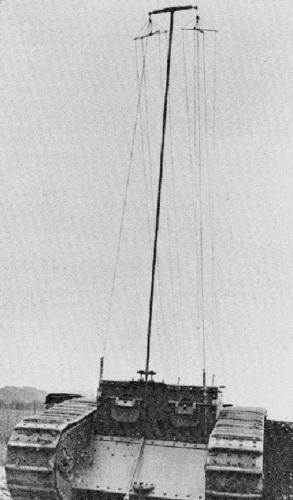 радиотанк на позиции
