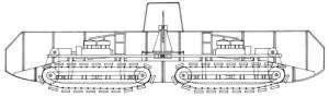 проект боевой гусеничной машины