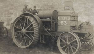 трактор Daimler-Foeter