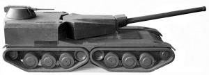 деревянная модель объекта 490