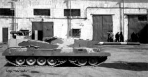 вариант перспективного танка (версия 1989-1991 годов)