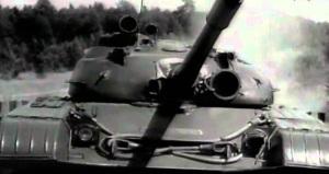 Т-64 (1967 год) на полигоне