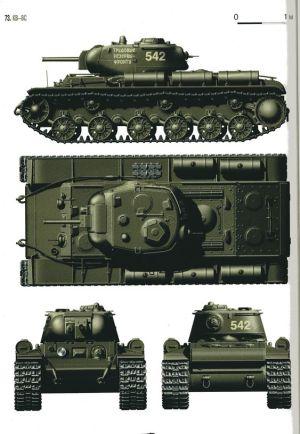 КВ-8С весна 1943