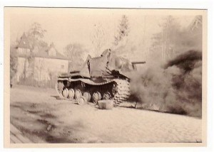 Подбитый КВ-6