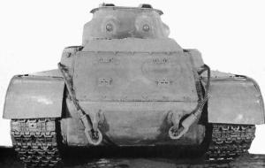 КВ-13 Вид сзади
